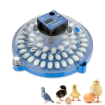 Egg Incubator Small Round Automatic Home Intelligent Chicken Tool Double Electric Hatcher Specification: 60 PCS Fully Automatic