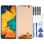 OLED Material LCD Screen and Digitizer Full Assembly for Samsung Galaxy A30 SM-A305
