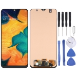 OLED Material LCD Screen and Digitizer Full Assembly for Samsung Galaxy A40s