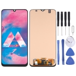 OLED Material LCD Screen and Digitizer Full Assembly for Samsung Galaxy M30 SM-M305