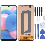 OLED Material LCD Screen and Digitizer Full Assembly for Samsung Galaxy A30s SM-A307