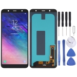 OLED Material LCD Screen and Digitizer Full Assembly for Samsung Galaxy A6+ (2018) SM-A605