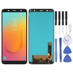 OLED Material LCD Screen and Digitizer Full Assembly for Samsung Galaxy J8 SM-J810