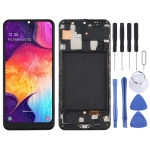 TFT Material LCD Screen and Digitizer Full Assembly With Frame for Samsung Galaxy A50 (US Edition) SM-A505U