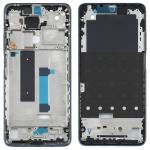 Original Front Housing LCD Frame Bezel Plate for Xiaomi Mi 10T Lite 5G M2007J17G (Black)