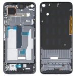 Front Housing LCD Frame Bezel Plate for Xiaomi Mi 10T Pro 5G / Mi 10T 5G / Redmi K30S M2007J3SC M2007J3SY (Black)