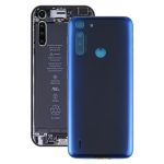 Battery Back Cover for Motorola One Fusion/One Fusion+/XT2073-2 PAKF0002IN (Blue)