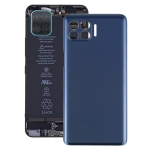 Battery Back Cover for Motorola One 5G UW / One 5G / Moto G 5G Plus / XT2075 XT2075-2 XT2075-3(Blue)
