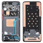 Original Front Housing LCD Frame Bezel Plate for Xiaomi Redmi K30 Ultra M2006J10C(Black)
