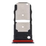 SIM Card Tray + SIM Card Tray / Micro SD Card Tray for Motorola Edge XT2063-3 (Black)