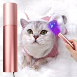 Wood Lamp Cat Ringworm Detection Pet Fungus Ultraviolet Light Flashlight Funny Cat Stick, Random Color Delivery
