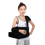 Strap Style Shoulder Abduction Fixation Brace Scapula Dislocation Fracture Fixation Pillow with Grip Ball, Specification: Right