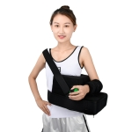 Paste Style Shoulder Abduction Fixation Brace Scapula Dislocation Fracture Fixation Pillow with Grip Ball, Specification: Left
