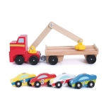 Baby Magnetic Car Loader Building Block Toy Child Intelligence Assemble Toy