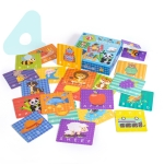 Children Early Education Cognitive Cartoon Toy Advanced Word Puzzle Baby Concentration Toy
