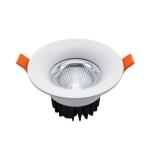 7W 90-265V Led Downlight Recessed Ceiling Light Living Room Shopping Mall Spotlight Corridor Aisle Downlight(3000K)