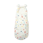 Newborn Cotton Quilt Sleeping Bag Baby Anti-Shock Swaddling Building Blocks (Thickened), Specification: M (3-6 Months)