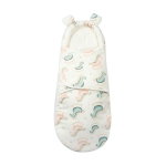 Newborn Cotton Quilt Sleeping Bag Baby Anti-Shock Swaddling Trojan Horse (Four Seasons), Specification: S (0-3 Months)