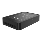 Y100 Windows 10 Home/Pro System Touch Screen Mini PC, Intel Celeron J3455 Quad Core 2M Cache up to 1.50GHz-2.30GHz, RAM: 8GB, ROM: 1000GB, US Plug