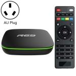R69 1080P HD Smart TV BOX Android 4.4 Media Player wtih Remote Control, Quad Core Allwinner H2, RAM: 1GB, ROM: 8GB, 2.4G WiFi, LAN, AU Plug