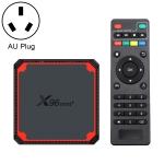 X96 mini+ 4K Smart TV BOX Android 9.0 Media Player wtih Remote Control, Amlogic S905W4 Quad Core ARM Cortex A53 up to 1.2GHz, RAM: 1GB, ROM: 8GB, 2.4G/5G WiFi, HDMI, TF Card, RJ45, AU Plug