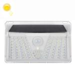 YWXLight 73 LEDs IP44 Waterproof PIR Motion Sensor Outdoor Solar Powered LED Wall Light