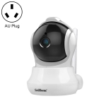SriHome SH020 3.0 Million Pixels 1296P HD AI IP Camera, Support Two Way Talk / Auto Tracking / Humanoid Detection / Night Vision / TF Card, AU Plug