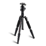 TRIOPO T259G+Q2 Adjustable Portable Carbon Fiber Tripod with Q-2 Ball Head for SLR Camera