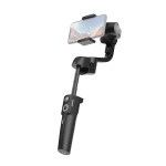 MOZA Mini-S Premium Edition 3 Axis Foldable Handheld Gimbal Stabilizer for Action Camera and Smart Phone(Black)