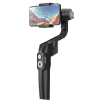 MOZA Mini-S Essential 3 Axis Foldable Handheld Gimbal Stabilizer for Action Camera and Smart Phone (Black)