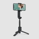 MOZA NANO SE Foldable Selfie Stick Handheld Gimbal Stabilizer for Smart Phone (Black)