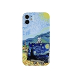 Colored Drawing Pattern Fine Hole IMD Shockproof TPU Protective Case For iPhone 11 Pro Max(Rural)