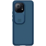 For Xiaomi Mi 11 NILLKIN Black Mirror Series PC Camshield Full Coverage Dust-proof Scratch Resistant Mobile Phone Case(Blue)