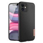 DUX DUCIS Fino Series PU + TPU Protective Case For iPhone 11(Black)