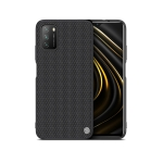 For Xiaomi Poco M3 NILLKIN 3D Textured Nylon Fiber TPU Case