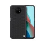 For Xiaomi Redmi Note 9 5G NILLKIN 3D Textured Nylon Fiber TPU Case