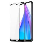 For Xiaomi Redmi Note 8T DUX DUCIS 0.33mm 9H Medium Alumina HD Full Screen Tempered Glass Film(Black)