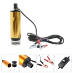 12V Car Electric DC Fuel Pump Submersible Pump, 51mm External Filter Version