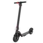 [US Warehouse] X7 Outdoor Waterproof Foldable Off-road Scooter with 10 inch Vacuum Tires & LCD Display & LED Lights & 6.4AH Lithium Battery, Load-bearing: 20-100kg (Black)