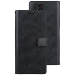 For Samsung Galaxy S21 Ultra 5G GOOSPERY Mansoor Series Crazy Horse Texture Horizontal Flip Leather Case With Bracket & Card Slot & Wallet (Black)