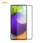 For Samsung Galaxy A52 4G / 5G ENKAY Hat-Prince Anti-drop Full Glue Tempered Glass Full Screen Film Anti-fall Protector