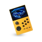 X16 WIFI Version 3.5 inch Screen Mini Handheld Game Console Supports Bluetooth Controller / HDMI / MP3 64G (Orange)