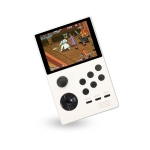 X16 WIFI Version 3.5 inch Screen Mini Handheld Game Console Supports Bluetooth Controller / HDMI / MP3 64G (White)
