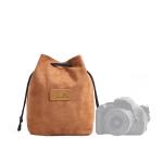 S.C.COTTON Liner Shockproof Digital Protection Portable SLR Lens Bag Micro Single Camera Bag Square Khaki M