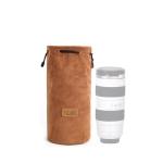 S.C.COTTON Liner Shockproof Digital Protection Portable SLR Lens Bag Micro Single Camera Bag Round Khaki L