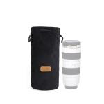 S.C.COTTON Liner Shockproof Digital Protection Portable SLR Lens Bag Micro Single Camera Bag Round Black L
