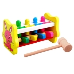 Hitting Wood Stick Game Animal Wooden Children Early Education Intelligence Toy
