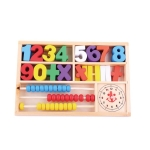 Mathematics Learning Box Childhood Early Education Teaching Aids Wooden Toy