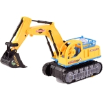 Children Light And Music Simulation Electric Excavator Car Toy, Style: Engineering Excavator