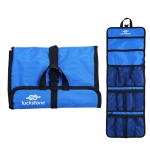 LUCKSTONE Outdoor Climbing Rope Hook Storage Bag Climbing Equipment Organizing Bag Tool Bag(Sky Blue)